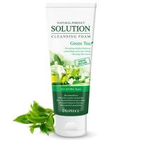 Пенка для умывания Deoproce Natural Perfect Solution Cleansing Foam Green Tea